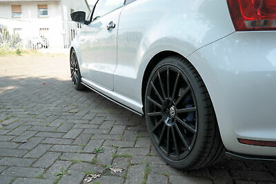 Pages Seuil Approche Latérale Skirts Diffuseur Aspect Carbone VW Polo 6r WRC
