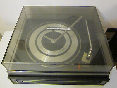 VINTAGE GARRARD TURNTABLE Record Player Working - $140 00