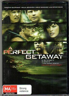 A Perfect Getaway - PAL Region 4 DVD - New & Sealed - Australian Release