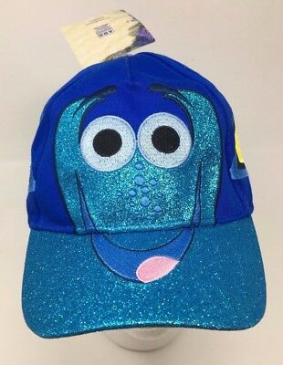 e0d147e186844 NEW Kids Disney Pixar Finding Dory Sparkle One Size Fitted Hat Baseball Cap