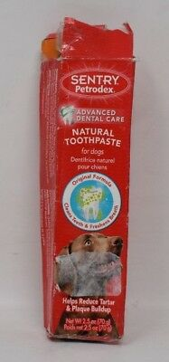 Sentry Petrodex Advanced Dental Care Natural Toothpaste For Dogs 2.5 oz