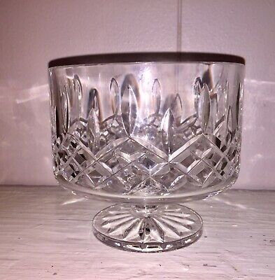 "Waterford Crystal 5"" Footed Bowl Compote Candy Dish"