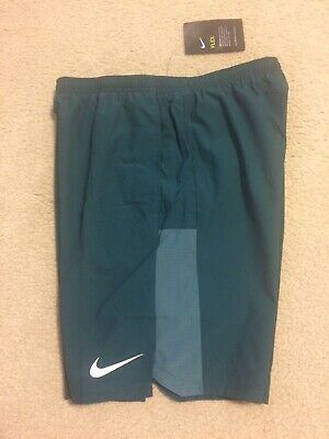 "Nike 9/"" FLEX Challenger DRI-FIT Men/'s Running Shorts Sz S-L Green AH8151-375"