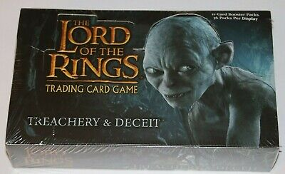 Lord of the Rings TCG, Treachery and Deceit Booster Box 36 Pack SEALED