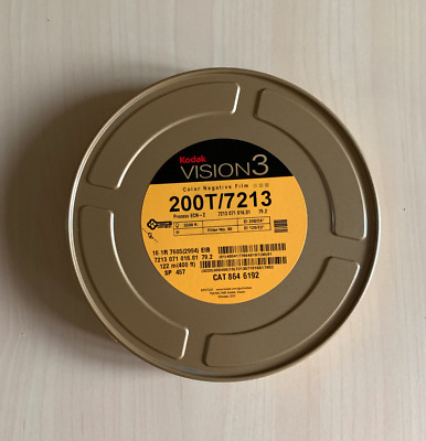 KODAK 16MM VISION3 COLOR NEG. MOVIE FILM 200T / 7213 400ft *NEW/STORED COLD