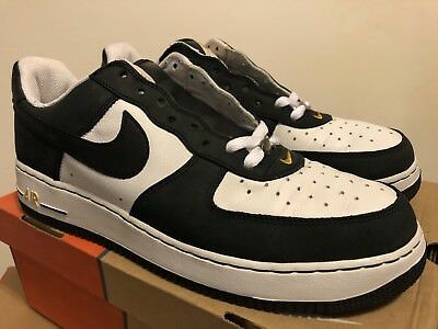 purchase cheap a8522 2da61 Nike Air Force 1 JD Sports White   Black   Sport Gold 2004 Sz 12 DEAD