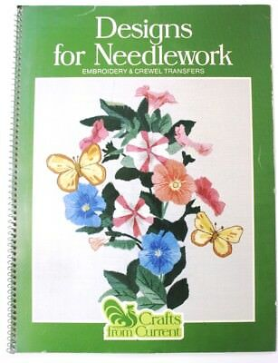 Crafts From Current Designs for Needlework Book Transfer Designs Embroidery