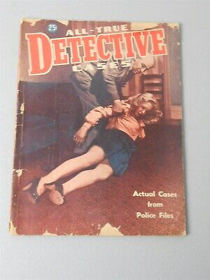 1947 All-True Detective Cases Vol 1 #3 April Mystery Murder Police ()