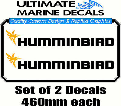 Custom Personalised Boat Name Sticker Decal Set of 2-750mm each