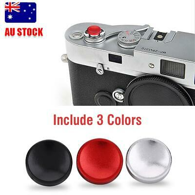 3Pcs Camera Metal Soft Shutter Release Button for Fujifilm X100 Leica Hasselblad