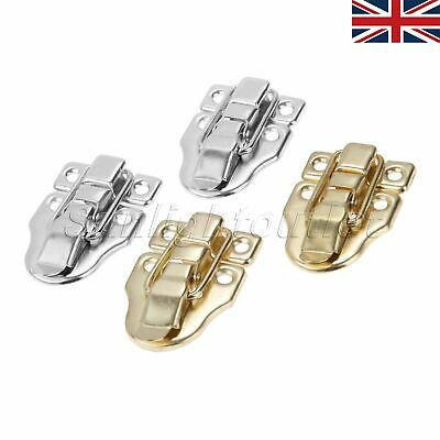 Suitcase Box Trunk Metal Buckle Latches Catch Toggle Hasp 62mm x 23mm 2PCS
