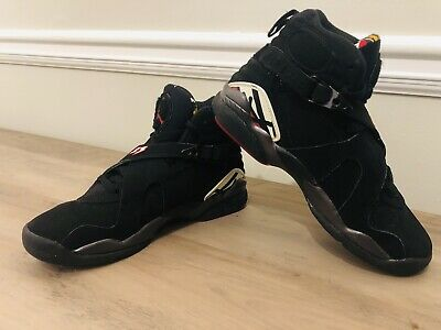 quality design c648f 10a36 2007 Men s Nike Air Jordan 8 Viii Retro Playoff Black Suede 305368-061 Size  5.5