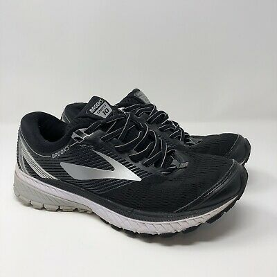 3c5afd5434b Brooks Ghost 10 DNA Men s Size 8 Black Silver White 1102571D045 Running  Shoes