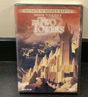 Secrets of Middle Earth DVD - Inside Tolkien's The Two Towers NEW SEALED