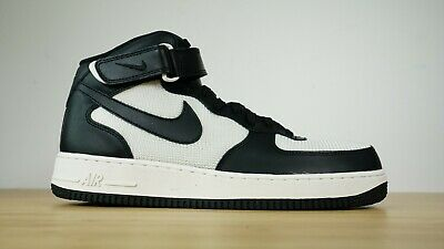 huge discount 5eebe 2b3f9 Nike Air Force 1 Medio  07 315123-037 Uomo Scarpe da Basket Bianco Nero