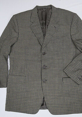 CANALI Proposta 3 button Sport Coat Blazer Jacket 42R made in ITALY 100% wool
