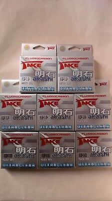 Lineaeffe Take Akashi Fluorocarbon 225m 0,12mm 2,55kg ultraclear