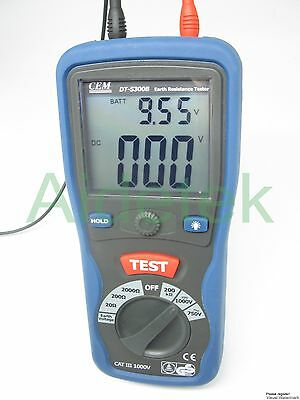 New Professional Digital Earth resistance tester Meter DT5300B 20 200 2000ohm
