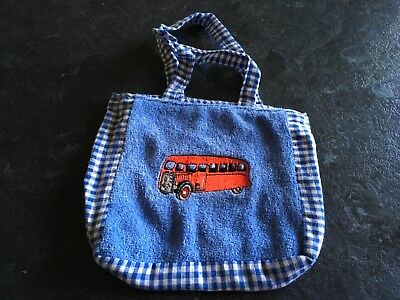 Bertie Friend of Thomas Boys Party Bag/Sweetie etc Embroidered Cloth Bag