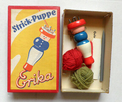 Strick-puppe Erika - VINTAGE 1960s Made in Germany