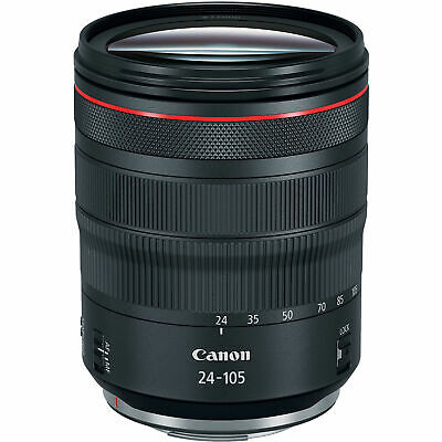 Nuovo Canon RF 24-105mm f/4L IS USM Lens (White Box)