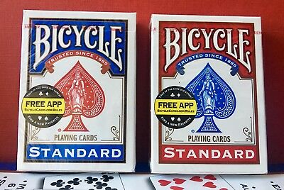 Bicycle Standard Playing Cards Red or Blue Free P&P BN Sealed UK