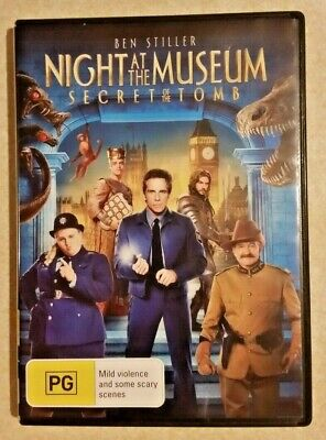 Night at the Museum: Secret of the Tomb (DVD, 2014) Robin Williams/ R4