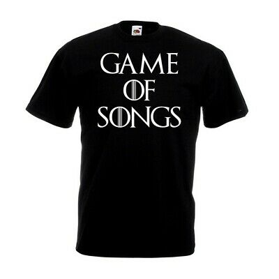 Game Of Songs T-shirt Eurovision Party Song Contest 2019 Thrones Funny Gift Top