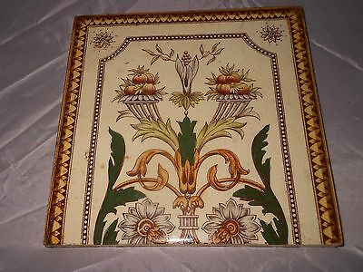 Vintage antique tile decorative pattern