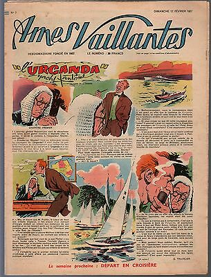 Souls Vaillantes.17 February 1957.union Writings Workers Barons Bn France