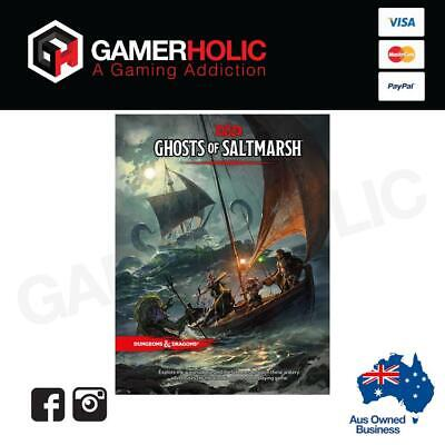 D&D Ghosts of Saltmarsh Board Game Brand New