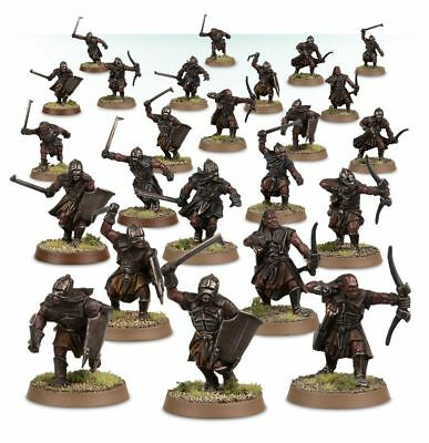 Warhammer Uruk-hai Scouts The Lord of the Rings plastic new