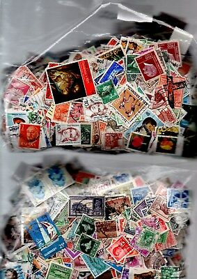 World Stamps - 20gms from off paper selection