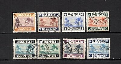 British Colonies - Soudan - Postally Used Set Of Stamps  Hcv  Lot (Suda 250)