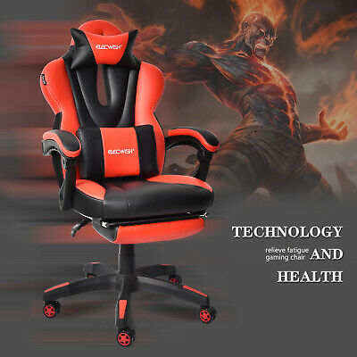 Astounding Ergonomic High Back Racing Gaming Chair Swivel Computer Caraccident5 Cool Chair Designs And Ideas Caraccident5Info
