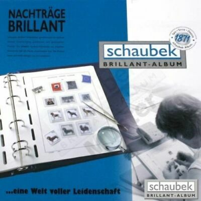 Schaubek Luxury Stamp Album Supplements - Choice of years and countries