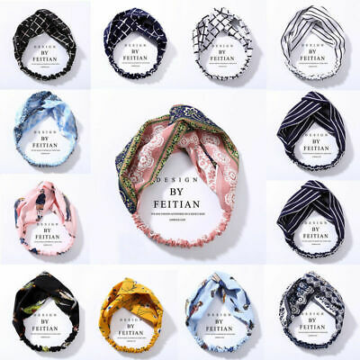 Fashion Women Turban Twist Knot Head Wrap Headband Twisted Knotted Hair Band New