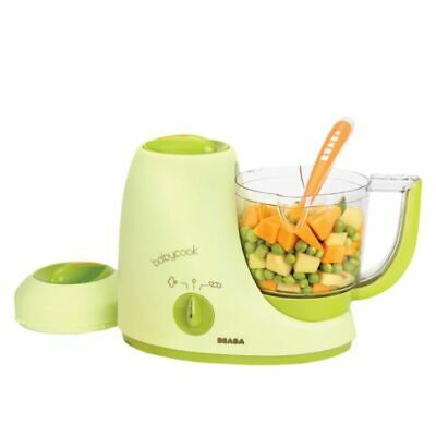 Beaba BabyCook Classic 4 In 1 Baby Food Maker 12 Portions Blender & Steamer 0002