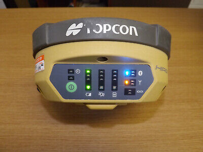 Topcon Hiper V Dual Frequency Network GPS GNSS Receiver with FC-500 Controller.