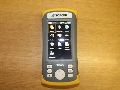 Topcon Hiper + Dual Frequency Network GPS GNSS Receiver with FC-500 Controller.