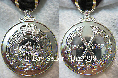 British Colonial Era Royal Hong Kong Police 150th Commemoration Medal 1844-1997