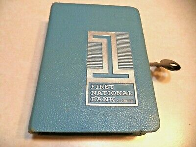 BANKERS UTILITIES BOOK BANK  1 KEY FIRST NATIONAL BANK of OREGON