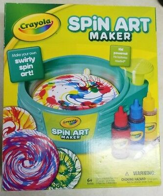 Crayola Spin Art Maker Make Your Own Spin Art