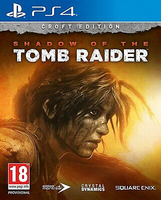 Shadow of the Tomb Raider - Croft Edition | PlayStation 4 PS4 New