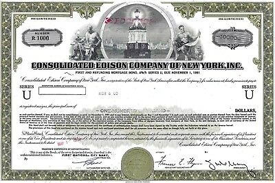 Consolidated Edison Company of New York Inc., 1968, 4 5/8% Bond 1991 (100.000 $)