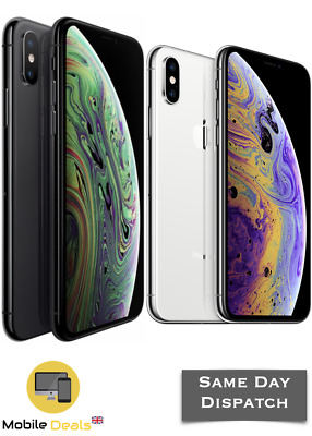 Apple iPhone XS 64GB & 256GB Unlocked SIM Free Smartphone Various Colours