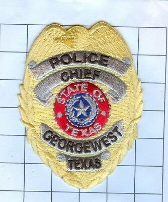 Texas Police Officer El Paso Police Patch Embroidered Mini-Patch Collectible