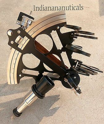 Antique Sextant~Astronomical Ship Instrument~Navegational Sextant~Marine Gifts
