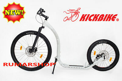NIEUW NEW ORIGINAL KICKBIKE CROSS FIX white SCOOTER STEP
