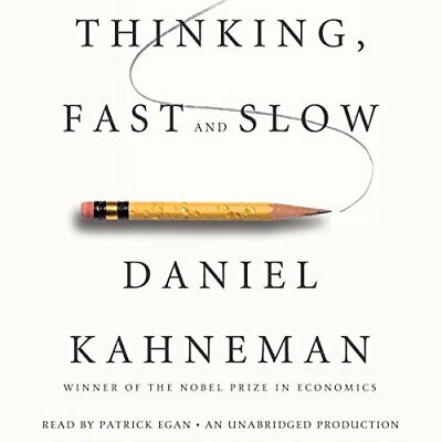Thinking, Fast and Slow -  AudioBook - No CD